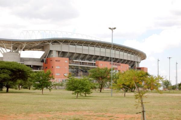 Peter Mokaba Stadium in Polokwane, South Africa.